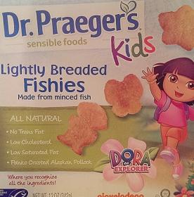 Dr. Praeger's Kids Lightly Breaded Fish