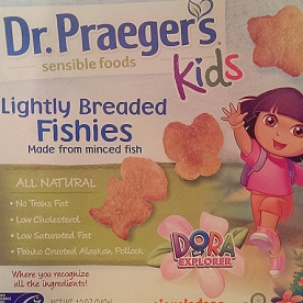 Dr. Praeger's Kids Lightly Breaded Fish