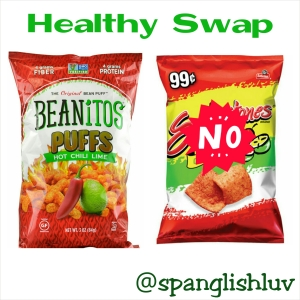 Beanitos Chile Lime Puffs vs Sabritones