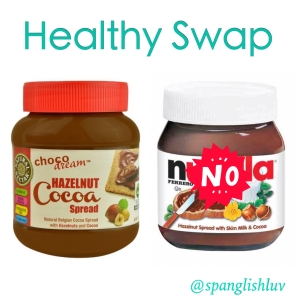 healthy swap nutella