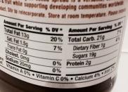 Natural Nectar Choco Dream Hazelnut Cocoa Spread Nutrition Label